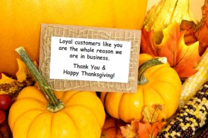 Plumbers Give Thanks Holiday Season, Schererville & Crown Point